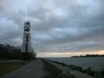 Морской бульвар города Балтийска