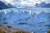 Раз уж на носу Новый год и Рождество — тема сегодня будет белоснежная и ооочень зимняя! Но не бойтесь замерзнуть — ведь наш сегодняшний герой хоть и ледяной, но ни капельки не холодный. Встречайте — одно из главных чудес аргентинской Патагонии, красавец-ледник Перито Морено!