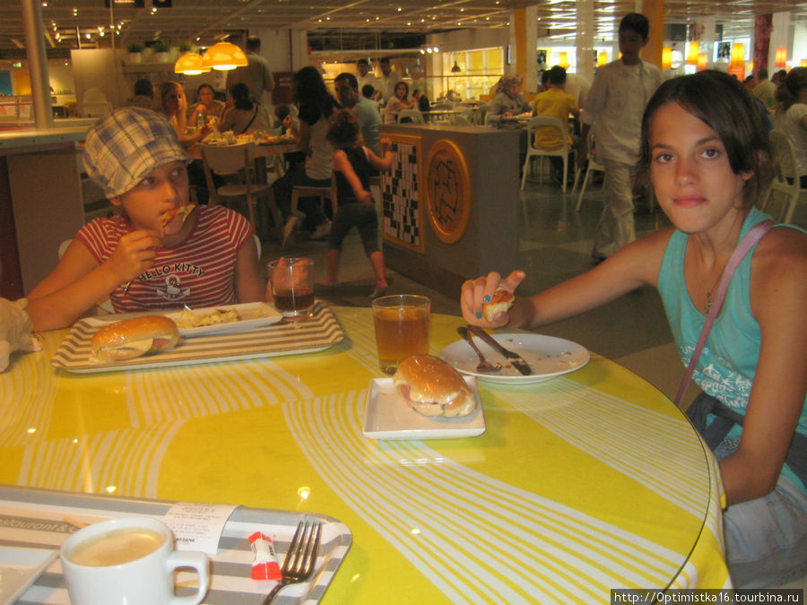 Завтрак в ИКЕА.