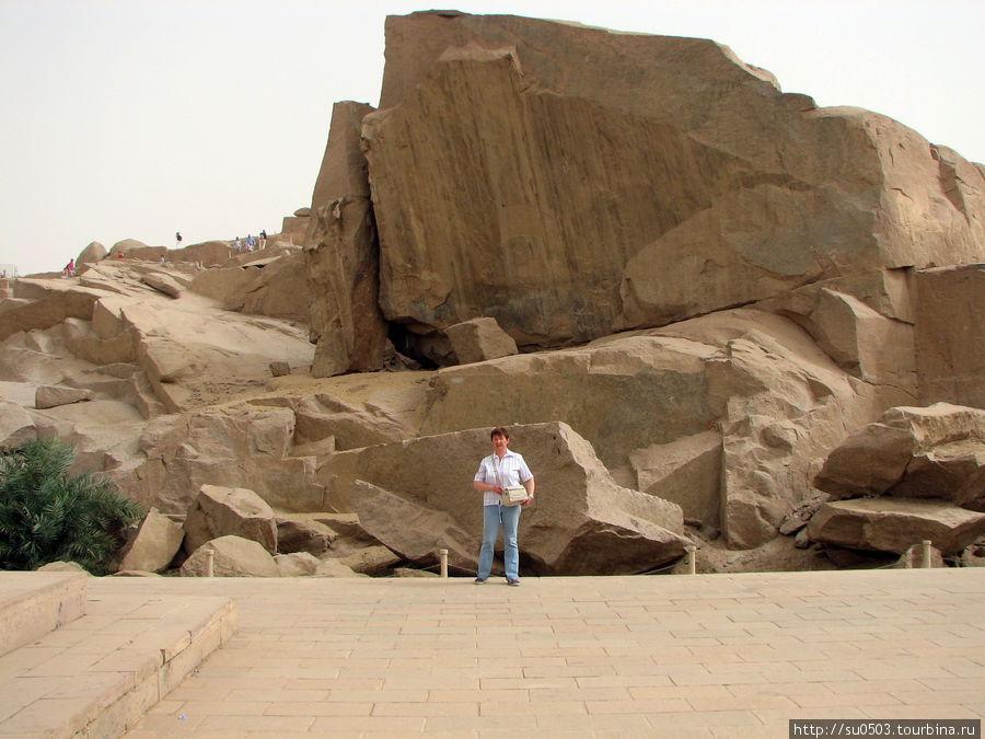 Вход в каменоломню