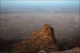 С одной из площадок, хорошо видны окраины города Аль-Айн