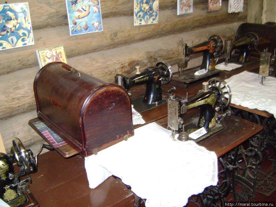 Швейной машинке
