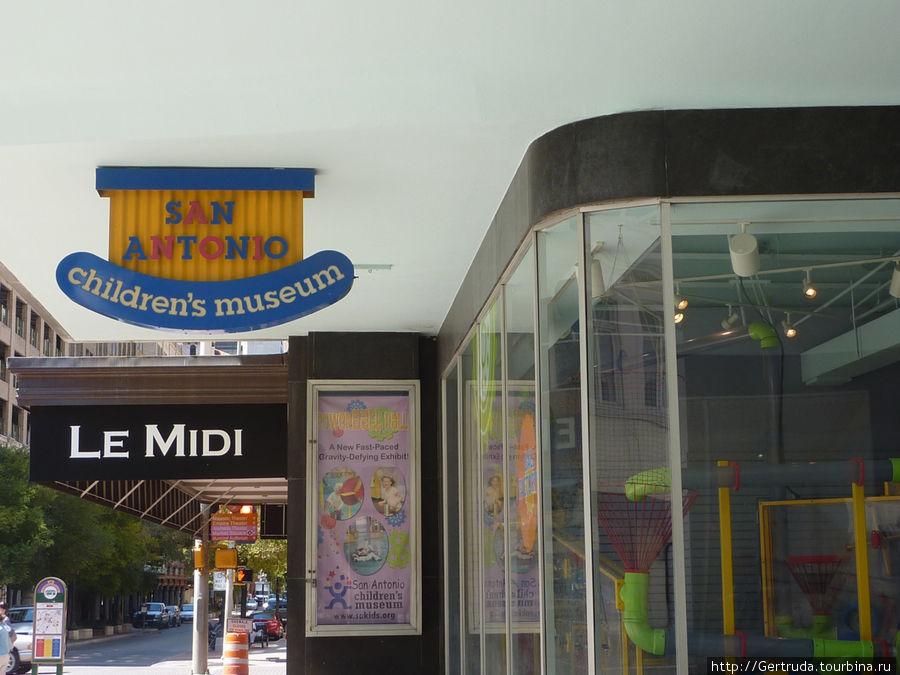 Вход в детский музей Сан Антонио