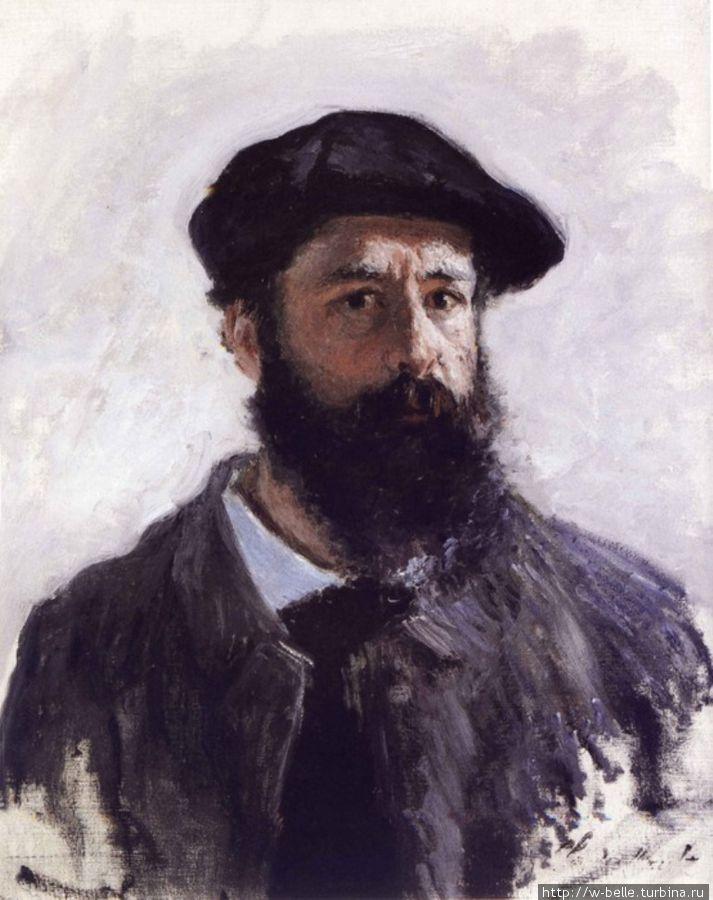 Автопортрет, Клод Моне, 1886г.