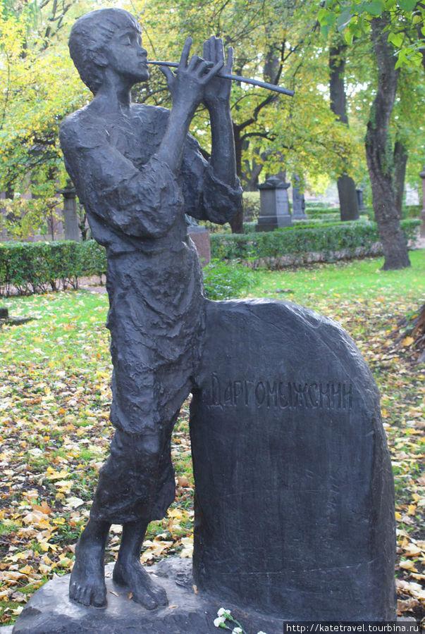 Памятник на могиле А.С. Д