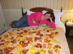 Осенняя тема везде — и в отеле