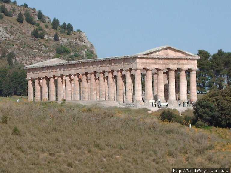 Дорический храм в Седжесте