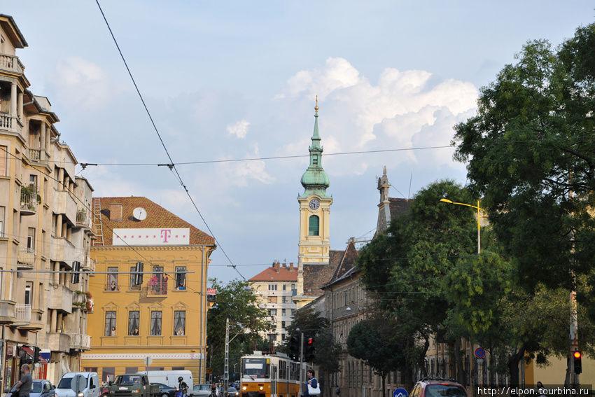 Улица Krisztina körút