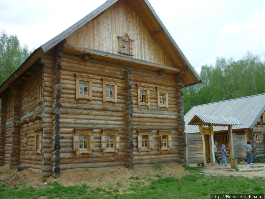 Гостиничный домик хутора Беларуси