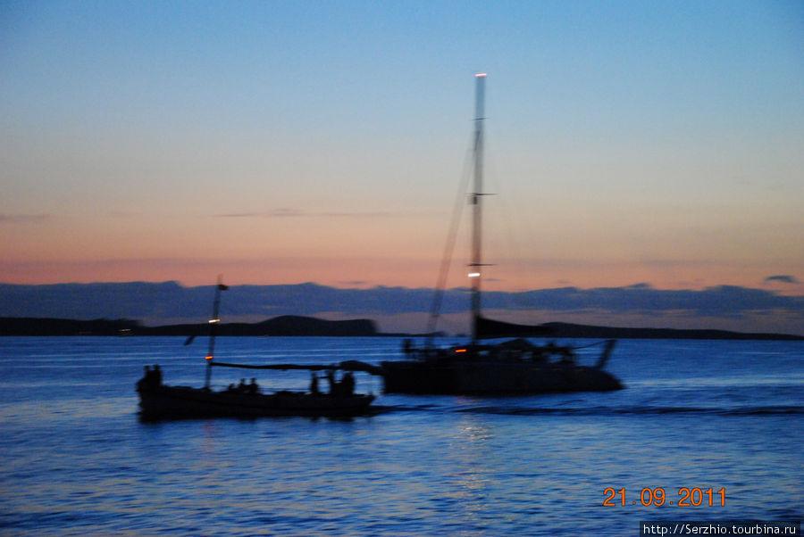 вечерняя прогулка по набережной до Кафе дель Мар