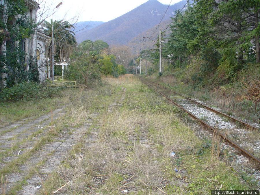 Железнодорожный вокзал Старой Гагры