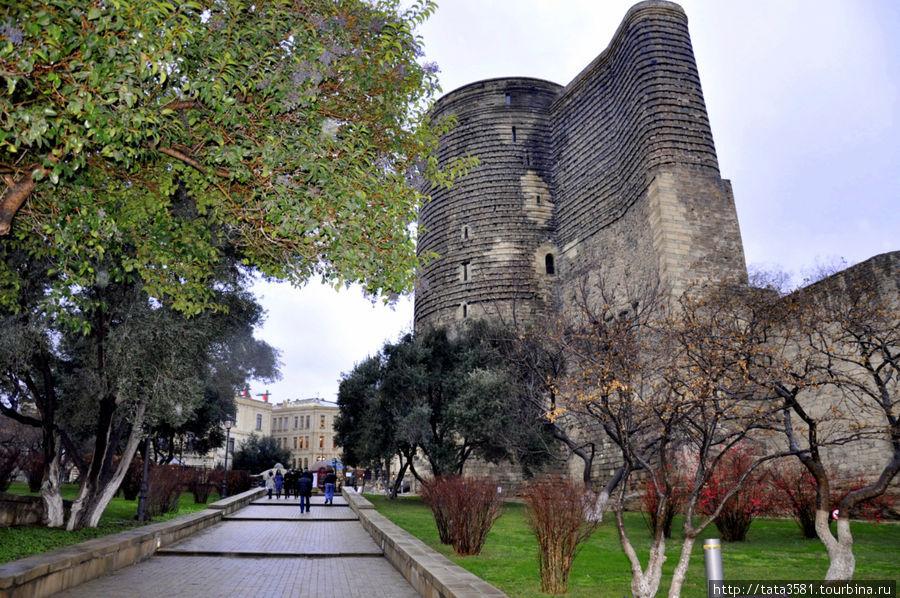 Девичья башня Баку, Азербайджан