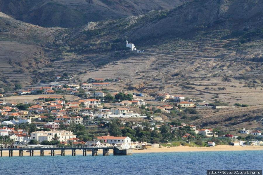 Остров Порту Санту. Город Вила-Болейра.
