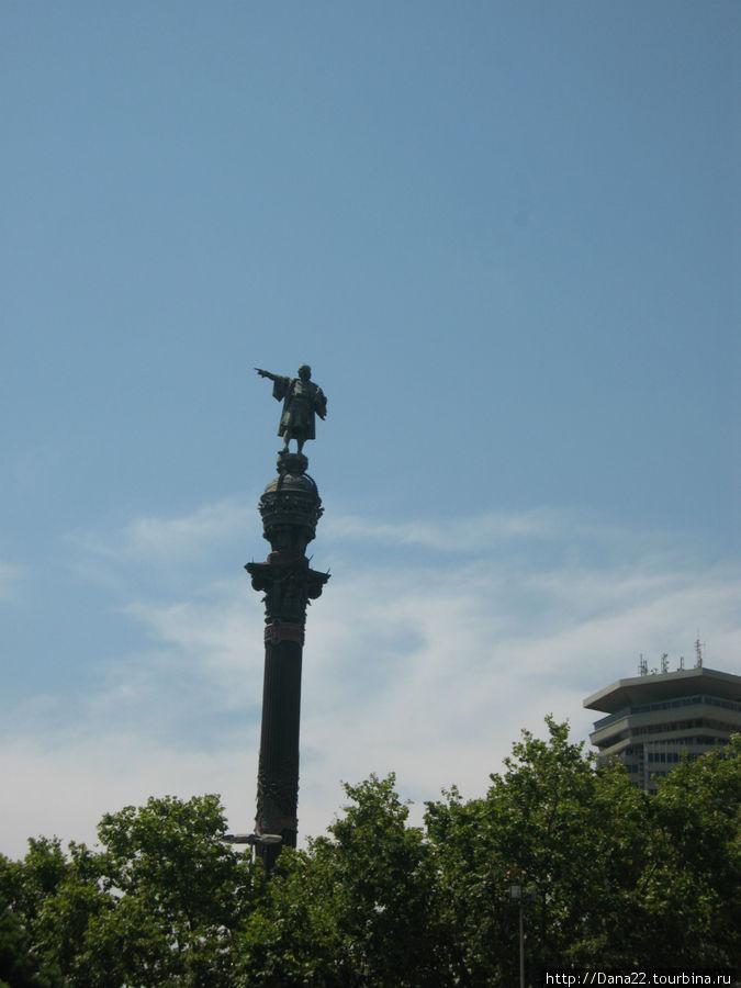 Памятник Христофору Колумбу.
