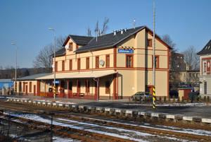 Вокзал сверкает новизной, как и все вокзалы Чехии