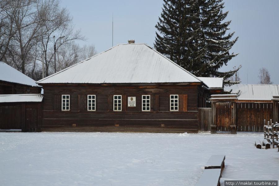 Дом Петровой, где впоследствии обосновался В.Ленин с Н.Крупской.