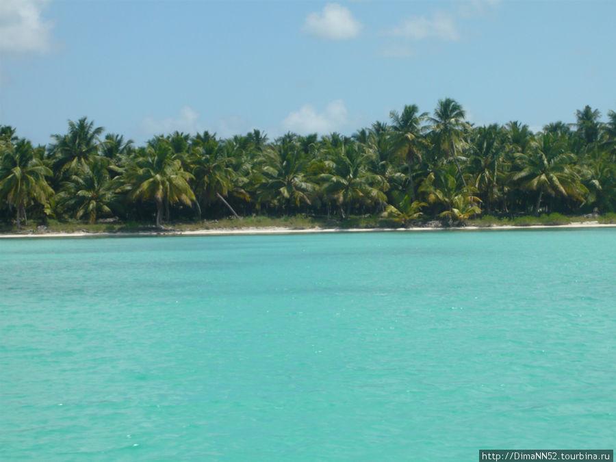 Голубое море Кариб.