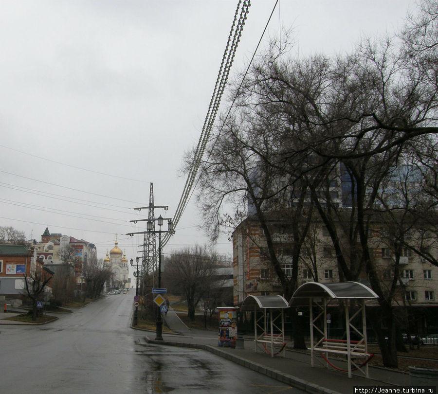Уссурийский Бульвар...Автбусная остановка...