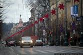 Одна из главных улиц в городе — проспект Гедимина.