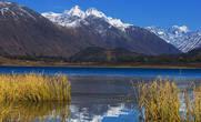 Восточный Казахстан. Озеро Язевое с видом на гору Белуха