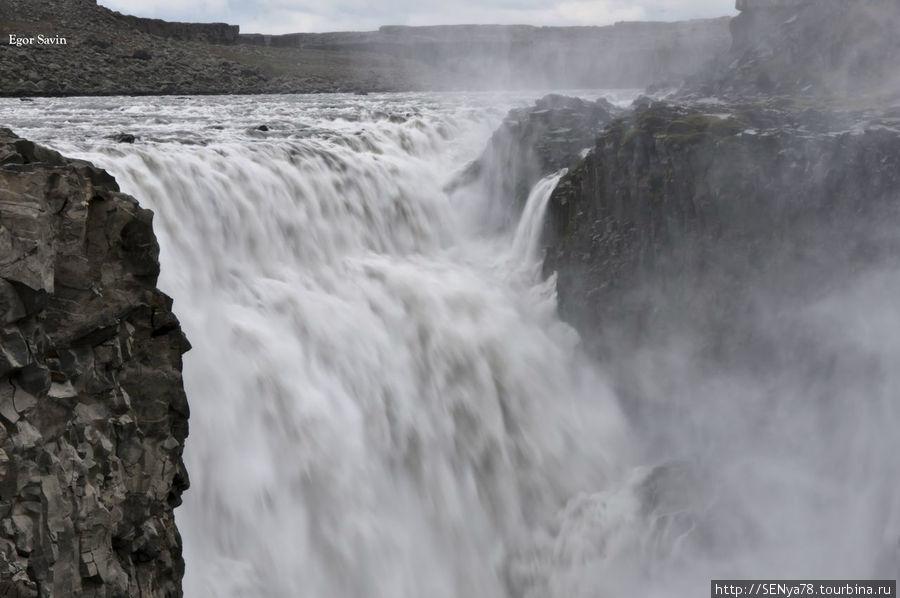 Водопад Dettifoss