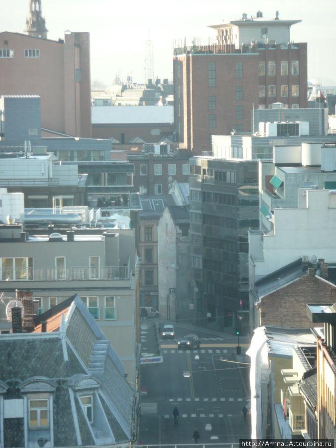 вид на город с 15 этажа
