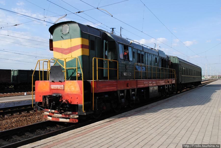 Пригородный поезд Шилово-Касимов