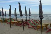 самый приличный участок пляжа