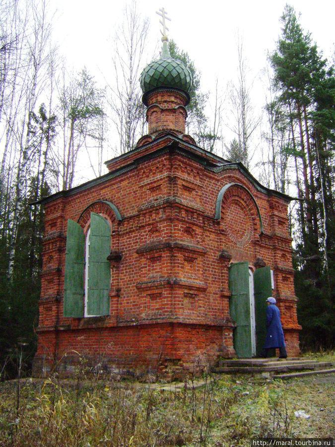 Около ста лет назад на том месте, где по преданию стоял дом Ивана Сусанина, построена часовня