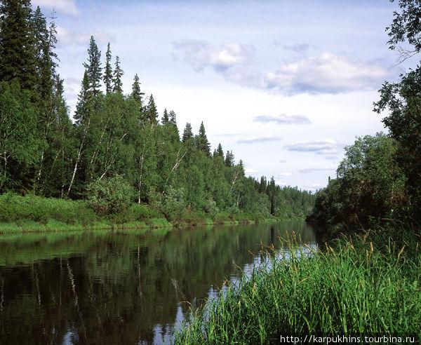 Здесь река ещё называется Катангой.