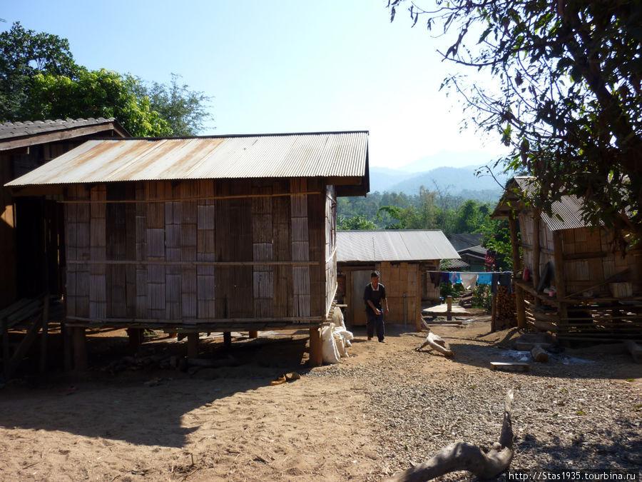 Провинция Чианг Май. горная деревня каренов.