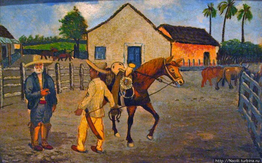 1903, я несколько раз просился на работу к Дону Мигелю на ранчо, и он дал мне работу пастуха — ковбоя