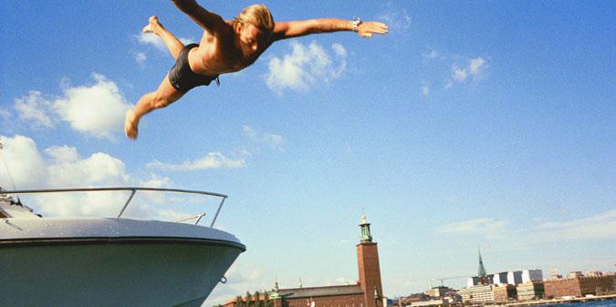 фото. Olof Holdar. Стокгольмский городовой.