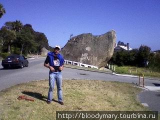 Скала — собака в гор. Албани