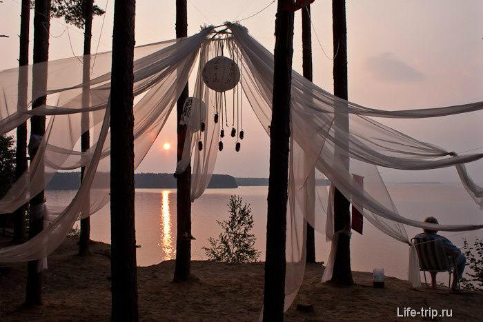 Озеро Волго — песчаные берега, тишь, да гладь Селище (озеро Волго), Россия