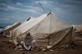 Лагерь беженцев.
