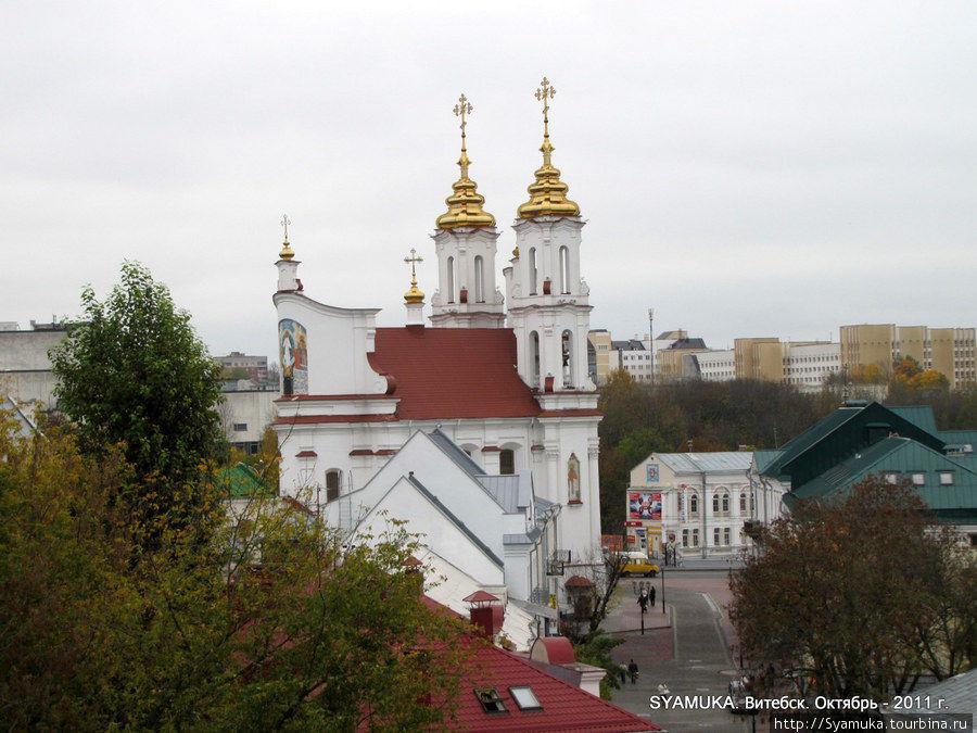 Воскресенский собор в Витебске.