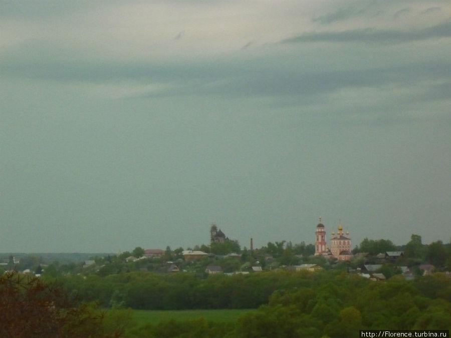 Вид на Боровск от церкви