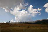 Природа решила устроит представление, небольшую небесную феерию.