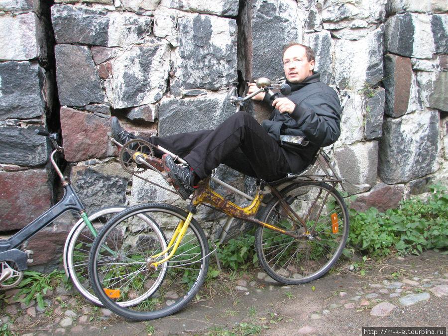Чудо велосипедной техники