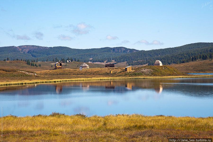 Навигатор написал, что это озеро Безымянное... но в Улагане столько озер, что разобраться какое из них какое не под силу даже навигатору Усть-Улаган, Россия