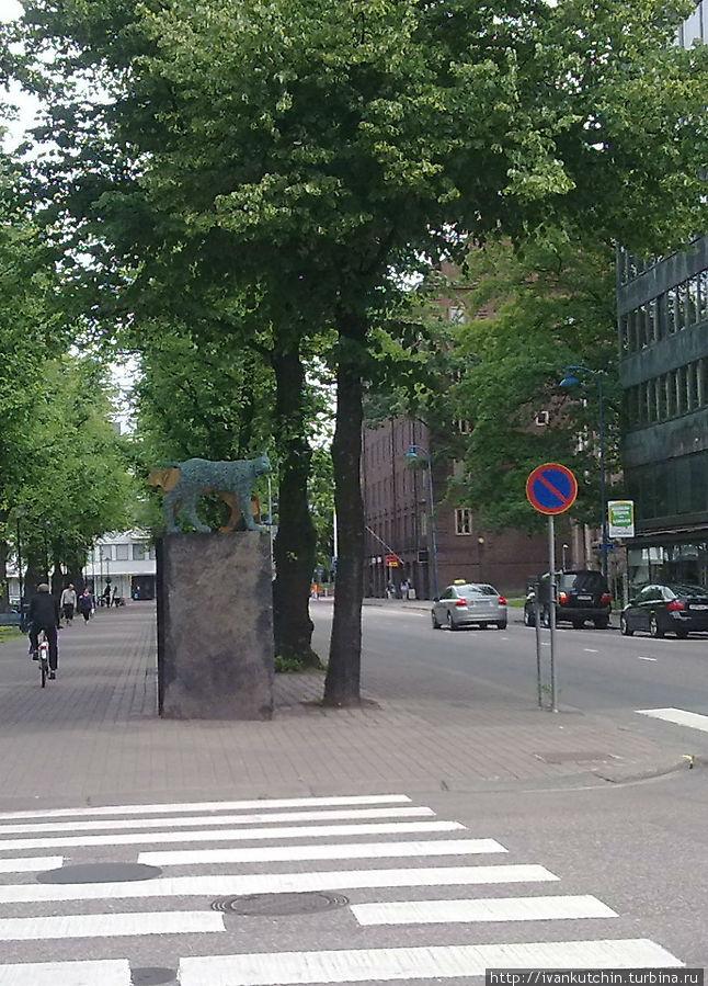 Котка — здания и уличная скульптура Котка, Финляндия