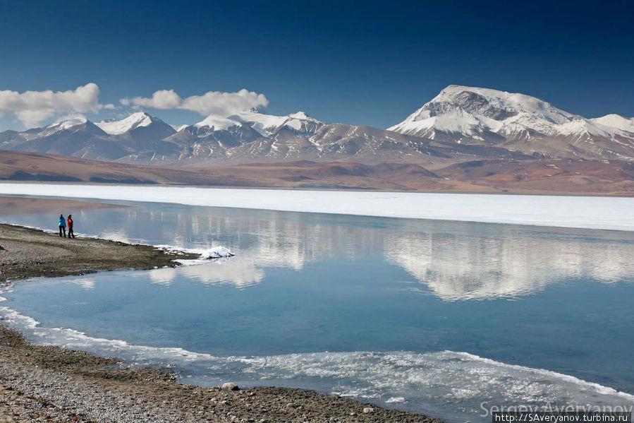 Замёрзший Ракшастал Дарчен, Китай