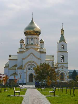 Новый православный храм — гордость жителей Мукачево.