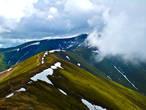 гора Стой — наивысшая точка Боржавы