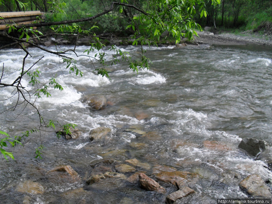 Горная река Эликмонар.