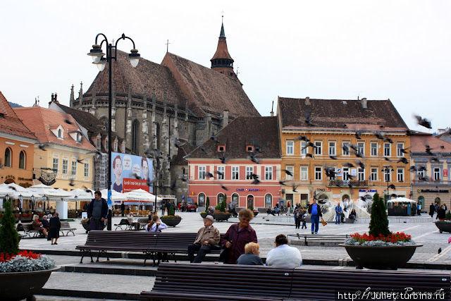 Исторический центр города Брашов, Румыния
