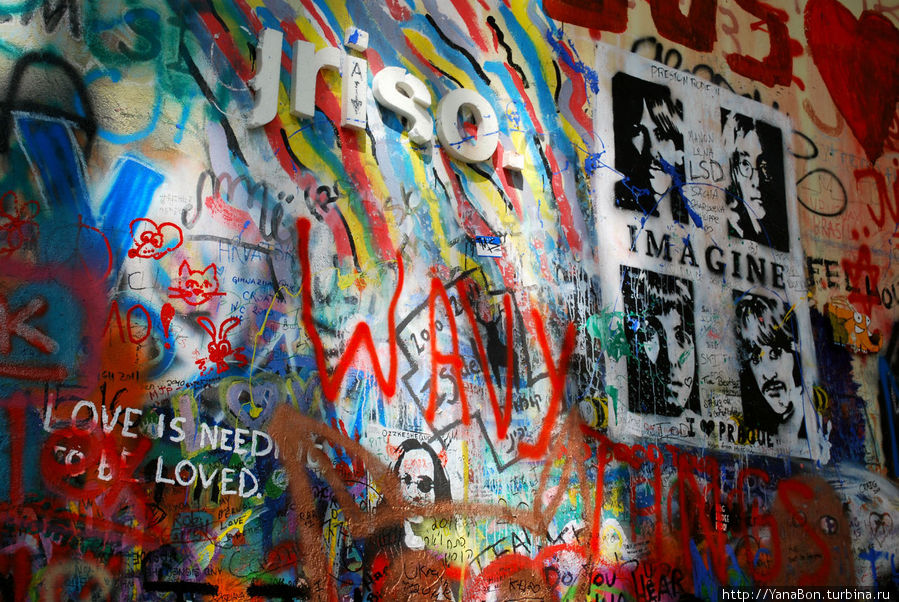Легендарная стена Джона Леннона