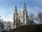 Софийский собор возвышается над Западной Двиной