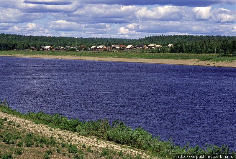 Деревня Осккоба.